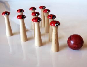 Lady Bug Bowling